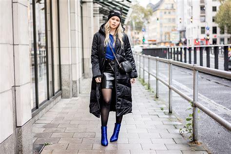 Blau Und Schwarz Kombinieren by Daunenmantel Blau Schwarz Kombinieren Fashion