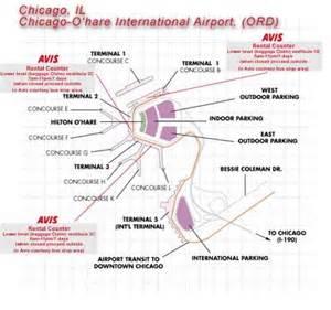 Car Rental Ord Chicago Airport Ord Car Rentals Avis