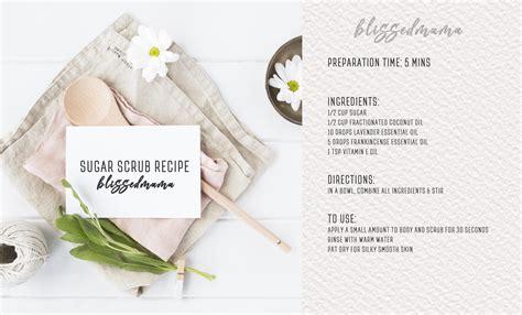 printable directions sugar scrub diy sugar scrub recipe with essential oils