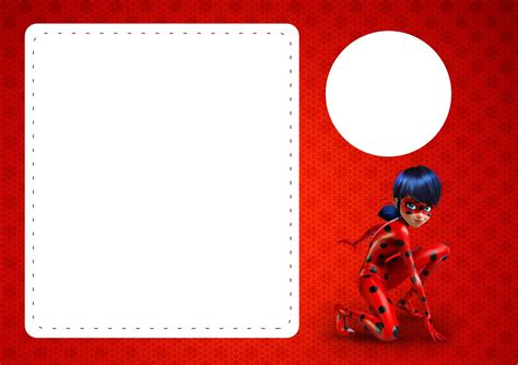 business card template with ladybug miraculous ladybug free printable invitations oh my