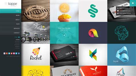 wordpress themes graphic design portfolio free kappe full screen portfolio blog wp theme by