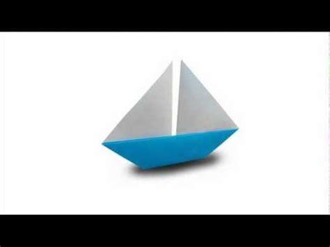 Origami Catamaran - how to fold an origami sailboat