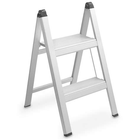 ultraslim aluminum step stools williams sonoma