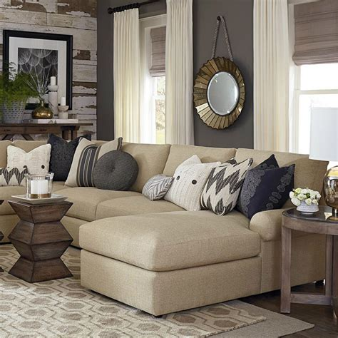 beige wohnzimmer living room design ideas in brown and beige