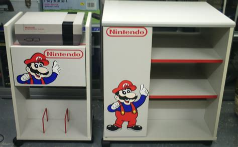 of nintendo display cabinet display retro nintendo storage cabinets tv