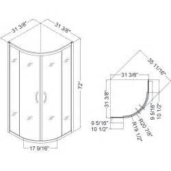 Shower Measurements Bathroom Dreamline Showers Prime Sliding Shower Enclosure Base Backwall Kits