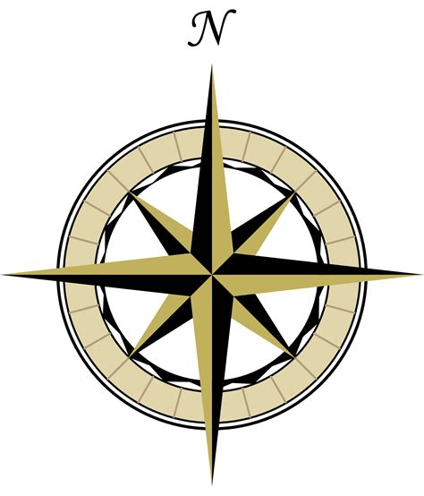 map compass compass map clipart best