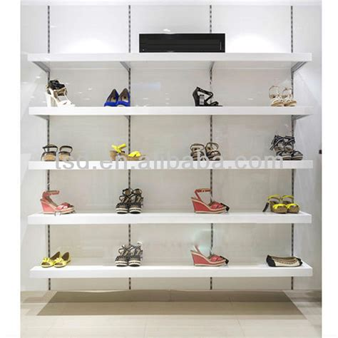 tsd w937 factory custom retail shop wall shelf for shoe