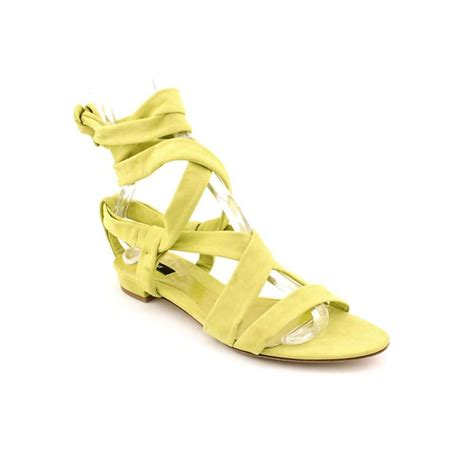 yellow sandal bally gisa leather yellow sandals sandals