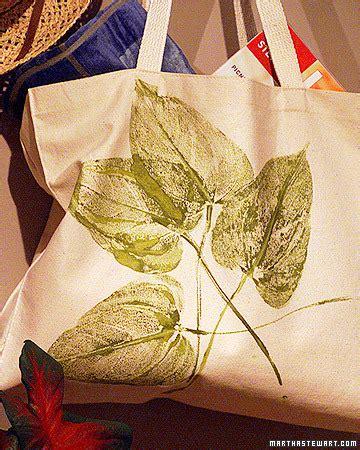 leaf print tote bag step by step diy craft how to s