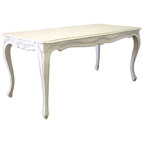 century painted louis xv style country french dining