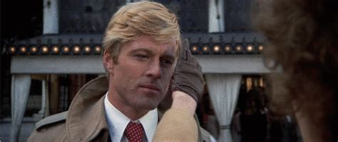 who cut robert redfords hair in the movie the way we were robert redford gif find share on giphy