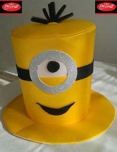 sombrero de minions sombrero de minions art pinterest minions cotillon