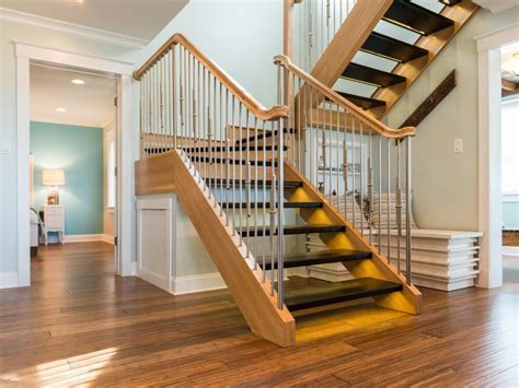 10 Floating Staircase Ideas   DIY