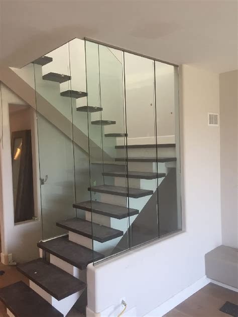 Tempered Glass Railing encinitas half inch tempered with flat polished edges patriot glass and mirror san diego ca
