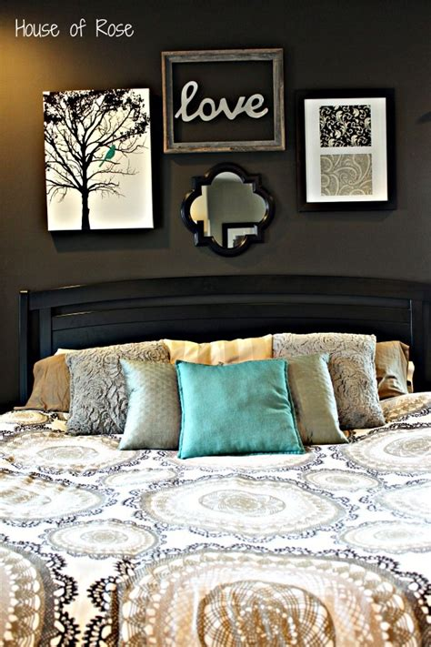 wall art for master bedroom master bedroom wall makeover