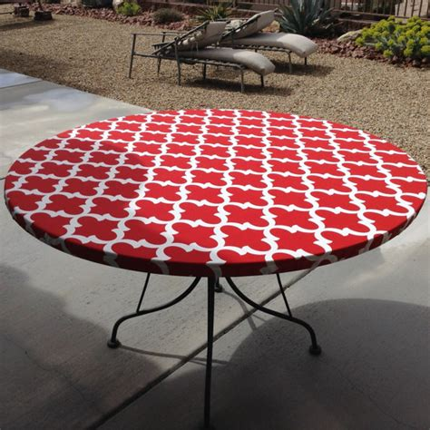 Fitted Tablecloth Vinyl Patio Vinyl Fitted Dining Patio Table Cloth