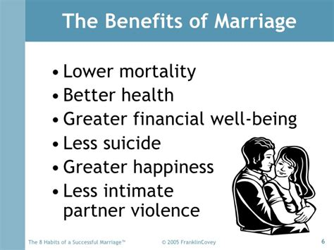 8 Benefits Of Being Married by 8 Habits Marriage Overview