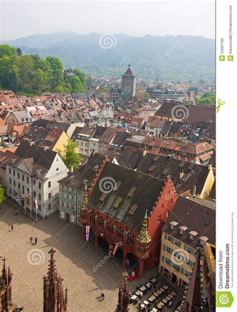 freiburg w freiburg im breisgau miasto niemcy obrazy royalty free