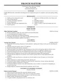 jobresumeweb executive resume templates 2015