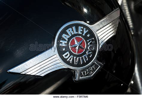 Harley Davidson Badges by Harley Davidson Tank Badge Stock Photos Harley Davidson