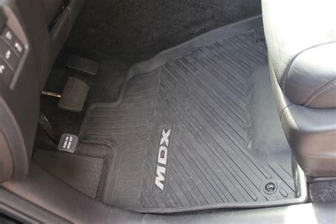 oem all weather mat vs weathertech w pics acurazine acura enthusiast community