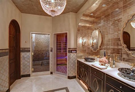 Built In Shower by Million Dollar Home In Scottsdale Arizona Is 24 500 000