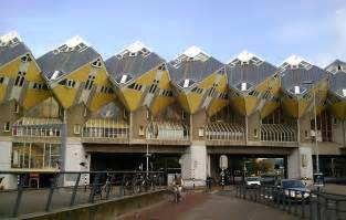 the curious cubic houses of rotterdam