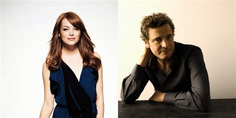 film emma stone colin firth emma stone and colin firth confirmed and first details on
