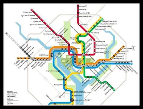 washington dc map subway dc metro travel guide