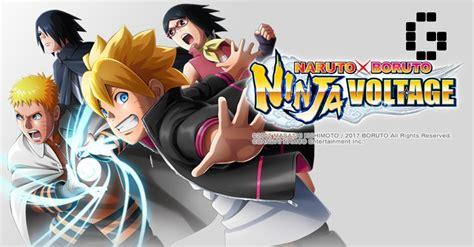 boruto di global tv naruto x boruto ninja voltage is now globally available