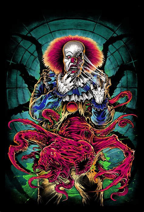 clown colors cavity colors pennywise shirt 01 daily dead