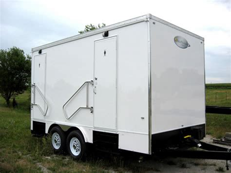 Bathroom Trailers by Portable Restroom Trailers Universalcouncil Info