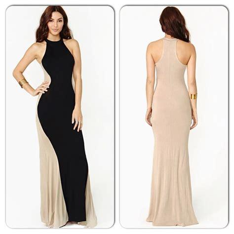 beige color dress 38 dresses skirts black beige color block
