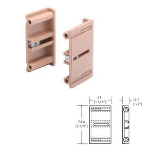Drawer Slide Bracket Parts Grass Bracket Set For Inset Frame Application 13901