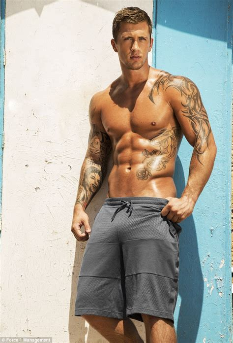 towie star dan osborne strips shirtless for 2015 calendar