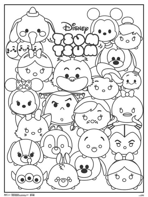image result  tsum tsum coloring pages