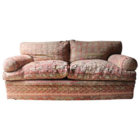 george smith sofa good quality three seat kilim upholstered sofa by george
