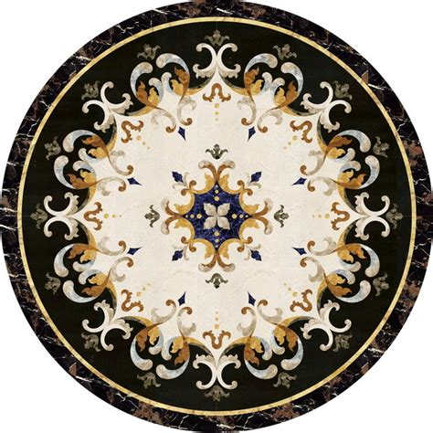 Marble Floor Medallions by Beautiful Waterjet Marble Medallion Marble Tile Inlay 48