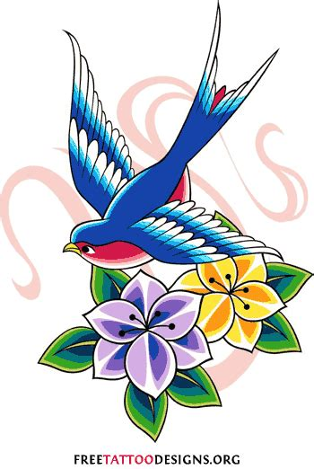 swallow tattoo design meaning and pictures of designs