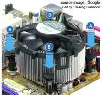 Kipas Fan Processor cara memperbaiki cpu fan atau kipas processor macet satria komputer