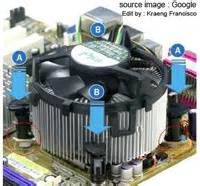Kipas Cpu Bekas komputer ku cara memperbaiki cpu fan atau kipas
