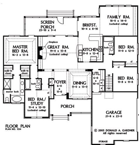 house of the week floor plans plan of the week one story home designs houseplansblog