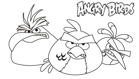 free coloring pages of angry birds print pages