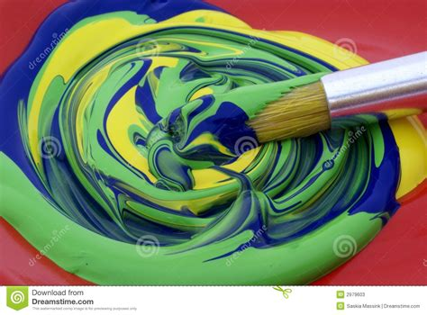 what is a good color to paint a bedroom poster paint mixed colors stock photos image 2979603