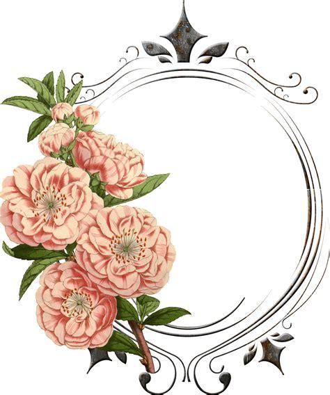 Undangan Vintage Colour vintage flower png поиск в frames