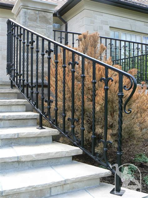 wrought iron railings wrought iron exterior railings photo gallery iron master
