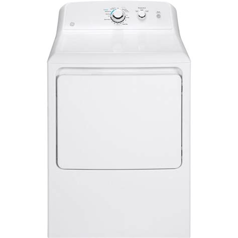 ge 7 2 cu ft gas dryer in white gtd33gaskww the home depot