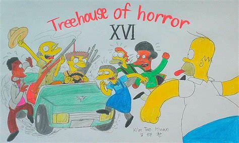 treehouse of horror xvii treehouse of horror xvi by komi114 on deviantart