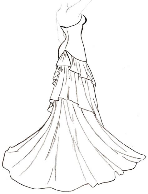 black and white pattern on clothes nice dresses coloring pages 5 922